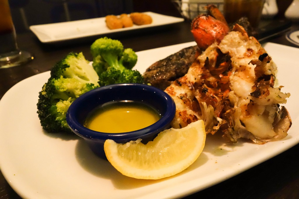 Grilled Sirloin & Lobster