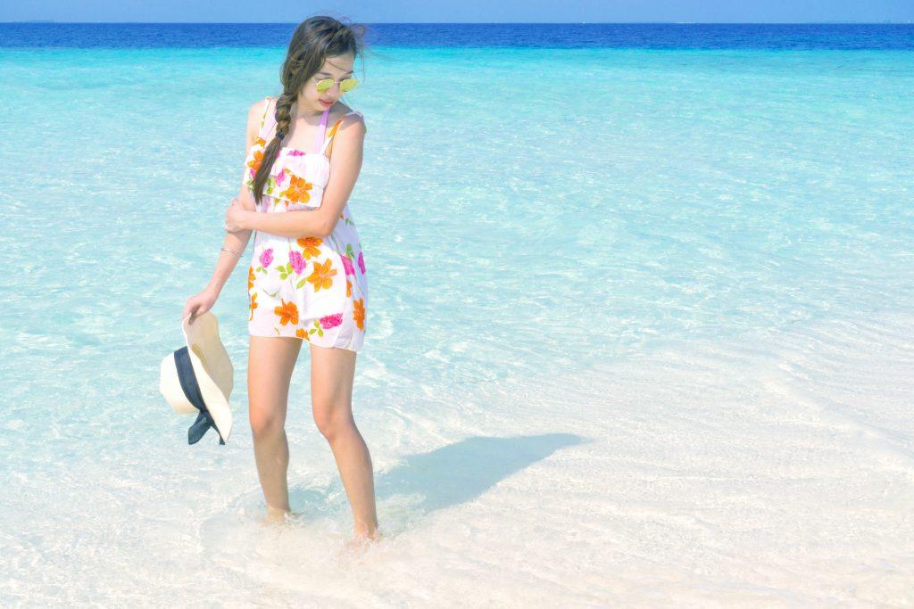 chiffon dress styles beach ootd beach outfit
