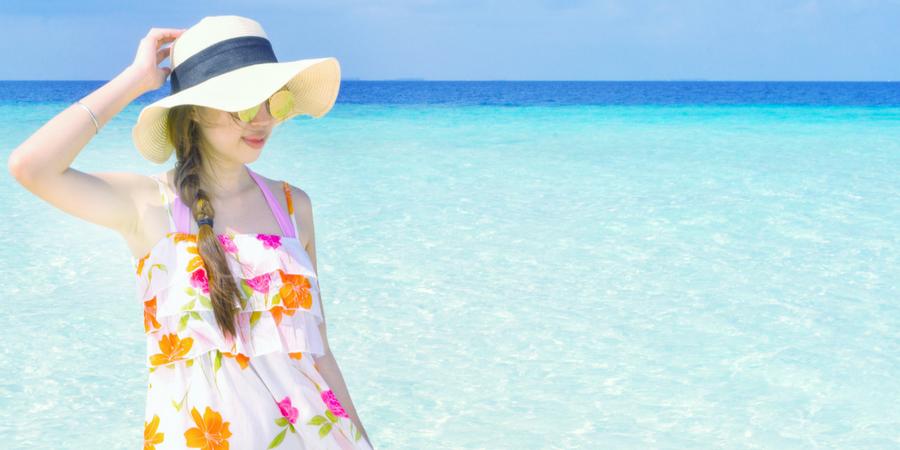 Floral Print Dress chiffon dress styles beach ootd beach outfit