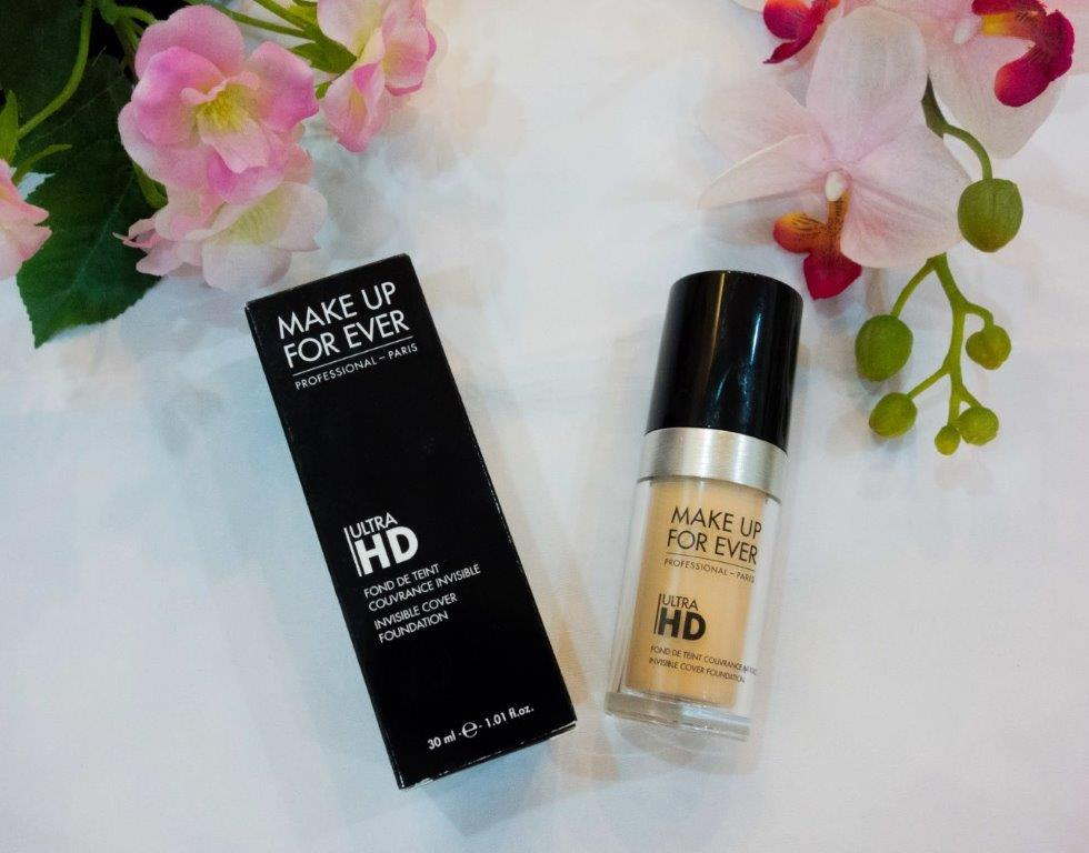 Make Up For Ever Ultra HD Foundation makeup forever hd foundation